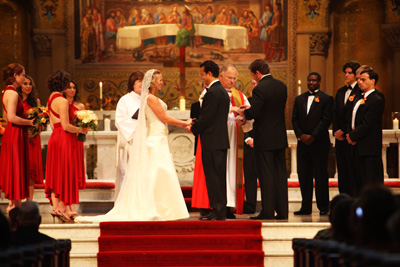 the wedding of margaret and john